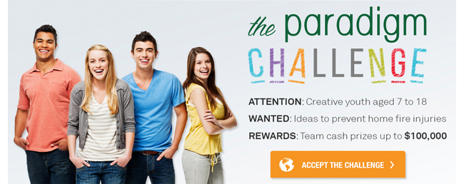 The Paradigm Challenge Banner
