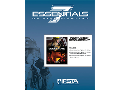 Essentials Of Fire Fighting, 7th Edition   IFSTA