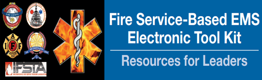 Fire Service-Based EMS Electronic Took Kit