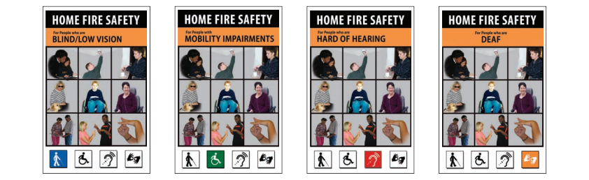 Home Fire Safety for Those With Disabilities Banner